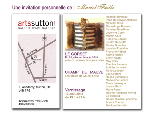 invitation Le Corset - copie